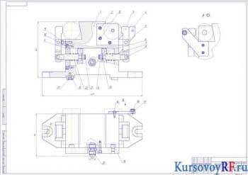 Проектирование приспособления для фрезерования лыски трубы на горизонтально фрезерном станке модели 6Р81