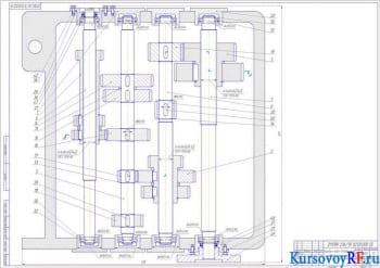 Разработка модернизации конструкции станка 2Н135 путем улучшения привода подачи