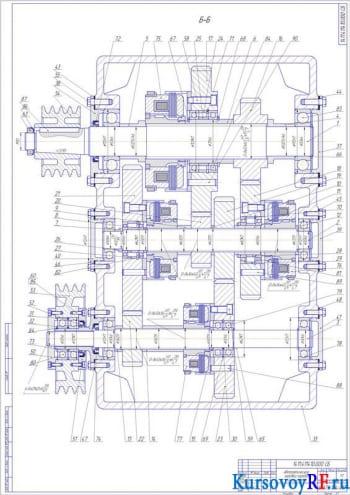 Создание элементов основного движения станка с компьютерным управлением