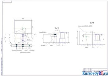 Обработка проектируемой детали на фрезерном станке