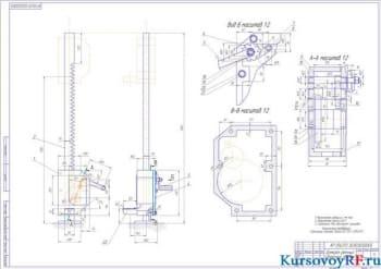 Проектирование и расчет реечного домкрата
