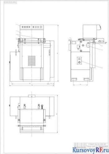 Курсовое проектирование шипорезного одностороннего станка ШПК-40