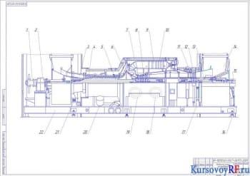 Расчет показателей рабочего процесса газотурбинной установки
