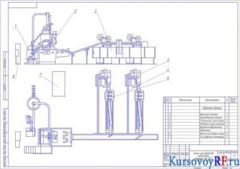 Проект колонки варочной для производства карамели
