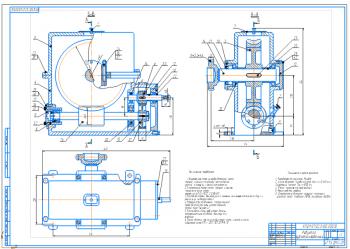 Проектирование привода лебедки с разработкой конструкции зубчато-червячного редуктора