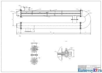 Разработка проекта водоводяного подогревателя сырой воды