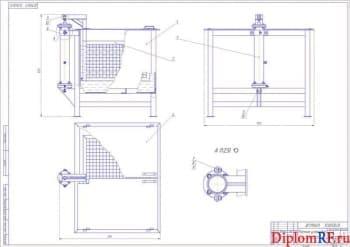 Реконструкция разборочно - моечного участка с проектированием оборудования для мойки деталей