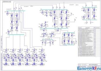 Курсовое проектирование электропередачи СВН