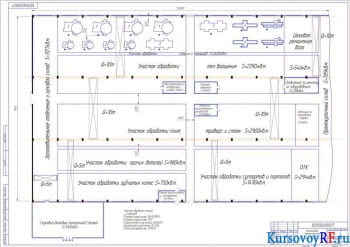 Курсовая работа проектирования механического машиностроительного цеха