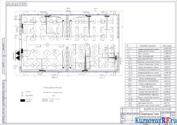 Генеральный план ремонтно-механического цеха