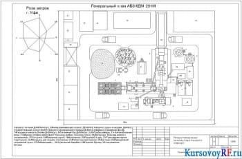 Проектирование асфальтобетонного завода с разработкой чертежной документации