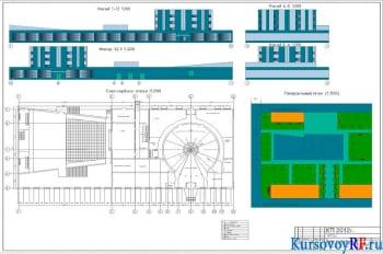 Проектирование двухэтажного дома культуры