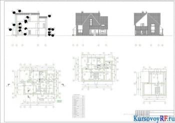 Проектирование индивидуального малоэтажный жилого здания