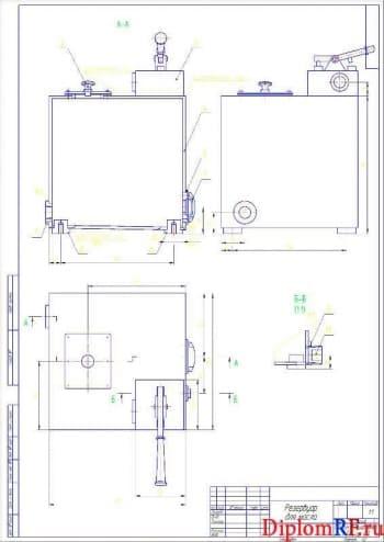 Реконструкция СТО с разработкой электрогидравлического подъёмника