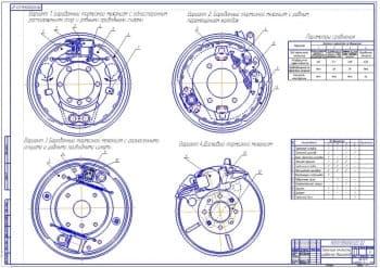 Сравнение вариантов тормозных механизмов