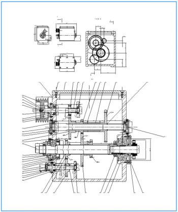 Модернизация привода главного движения станка 16К20Ф3 для обработки шкива коленчатого вала
