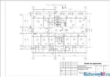 План типового этажа М:100 (3)