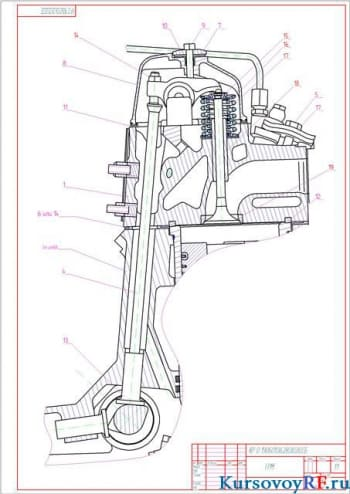 Технология и методики восстановления толкателя механизма газораспределения КАМАЗ 53212