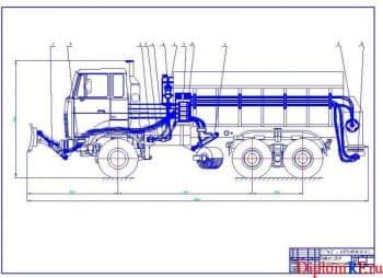 Разработка гидравлической системы снегоуборочной машины