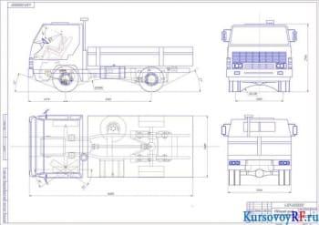 Разработка ходовой системы и компоновки автомобиля