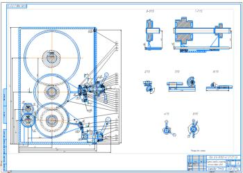 Проектирование привода главного движения горизонтально - фрезерного станка модели 6Р82