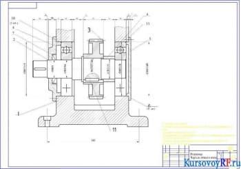 Расчет точных параметров посадок цилиндрических гладких сопряжений редуктора