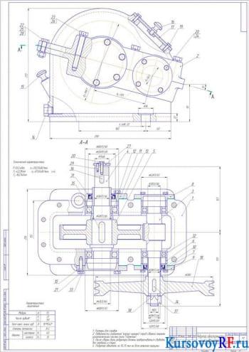 Создание приводной установки к ленточному конвейеру