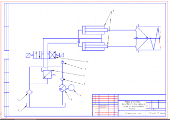 3.Гидравлическая схема А3