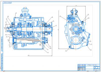 Проектирование технологического процесса восстановления картера коробки передач автомобиля ЗИЛ-130