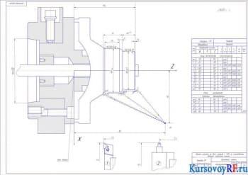 Инструментная наладка 16К20Ф3
