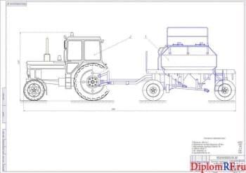 Разработка прицепного тракторного разбрасывателя минеральных удобрений
