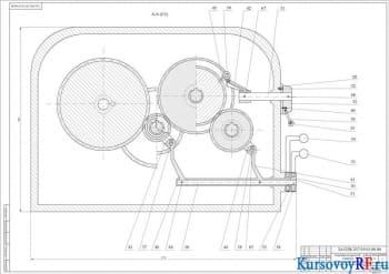 Курсовой проект по модернизированию привода движения станка-прототипа модели 2А125