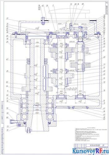 Разработка элементов передвижения станка с компьютерным управлением