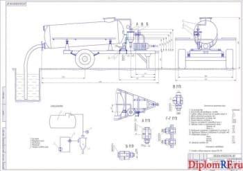 Проект совершенствования нефтепродуктообеспечения агрохозяйства с конструктивной разработкой прицепной тракторной установки для очистки резервуаров