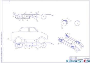 Курсовое построение параметров эксплуатации грузовых транспортных средств на примере марок ЗИЛ, МАЗ, УРАЛ