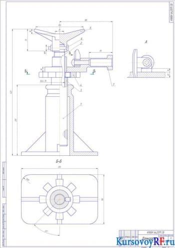 Расчет домкрата винтового типа грузоподъемностью 42 кН