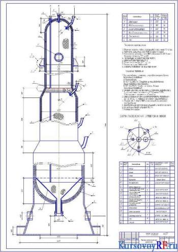 Установка риформинга бензина: конструирование и расчет