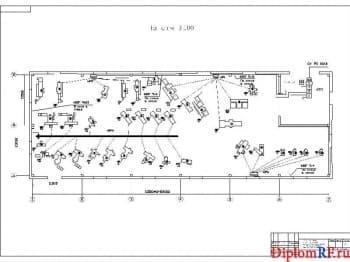 Модернизация системы электроснабжения производственного корпуса ремонтной мастерской