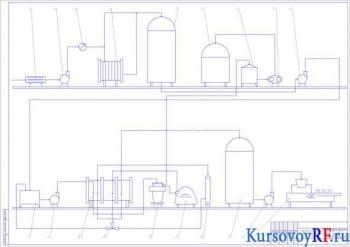 Курсовое проектирование линии пастеризации молока с разработкой чертежей