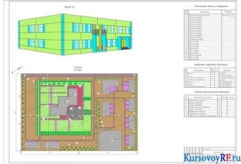 Курсовое проектирование панельного здания детские ясли-сад