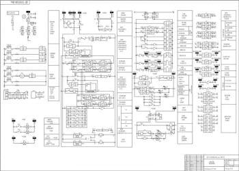 3.Схема РЗА  секционного выключателя. А-1
