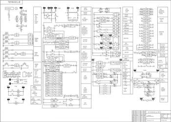 3.Чертеж схемы РЗА вводного выключателя А1