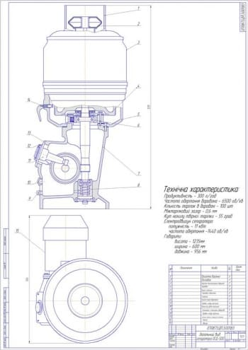 Техническое переоснащение линии П8-Олу выработки масла из высокожирных сливок сепаратором ОСД-500