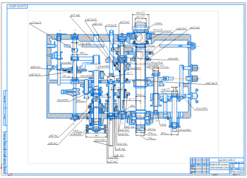 Проектирование коробки скоростей токарно-винторезного станка модификации 16К20