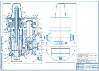 Проект конструкции специального вертикально-фрезерного широкоуниверсального станка типа ТЗ.МРС.08.41