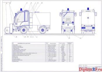 Разработка коммунальной машины - фрезерно-роторного снегоочистителя