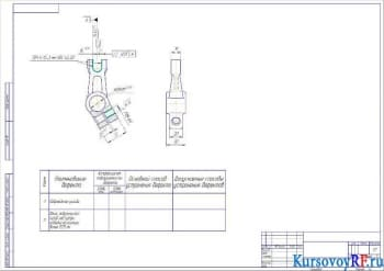 Проектирование технологии восстановления вилки включения сцепления на примере трактора модели МТЗ-8082