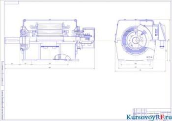 Курсовые механические расчеты электрического двигателя с фазным ротором