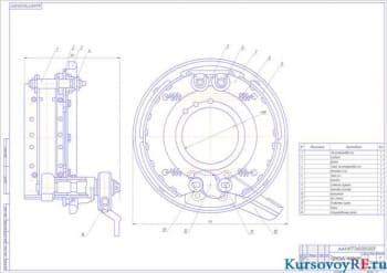 Самосвал (6х4) с процессом разработки тормозного управления