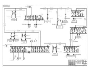 4.Сеть электрическая кольцевая 110 кВ. Схема электрическая функциональная А1